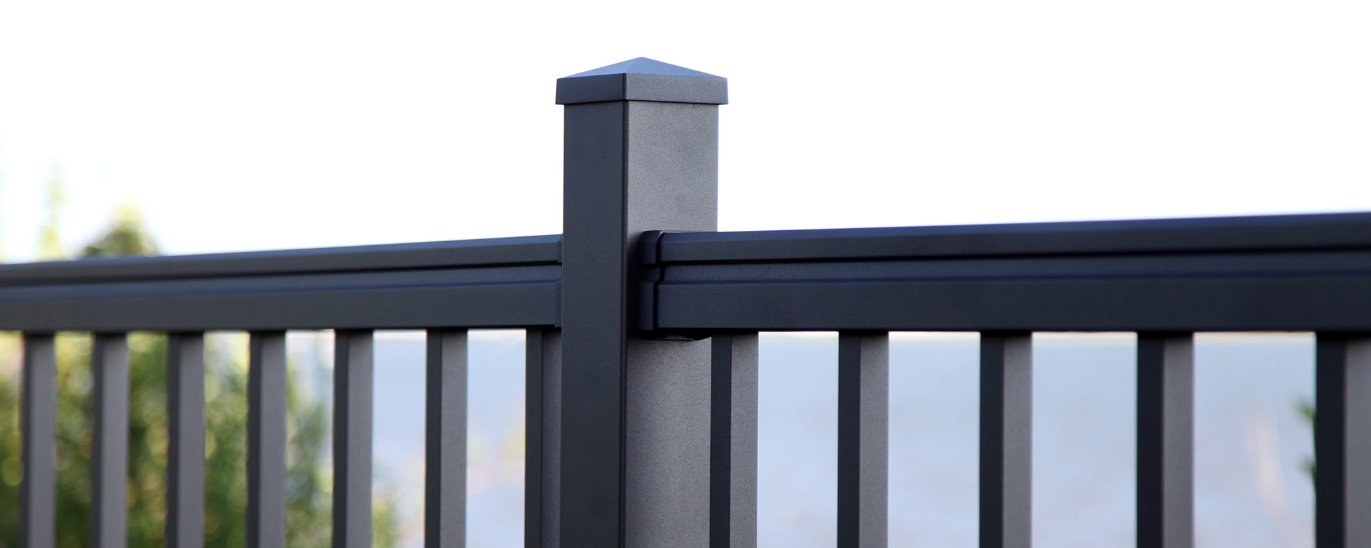 Residential Boxed Railing Windsor